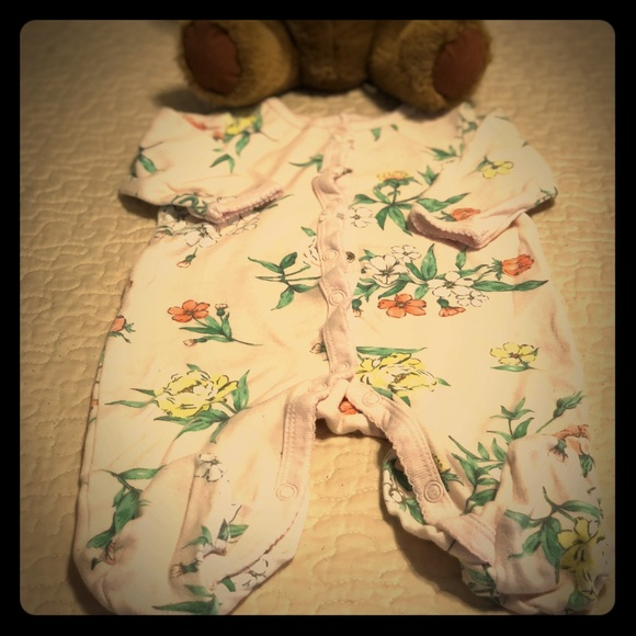 Carter's Other - Carter's 0-3 Month Babygirl Jammies